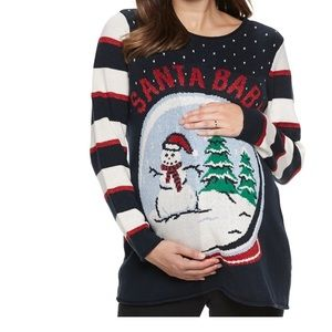 Sweaters - Maternity Ugly Christmas Sweater